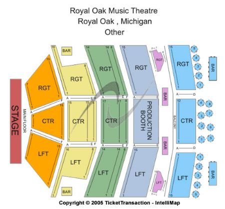 Royal oak music theatre tickets and royal oak music theatre
