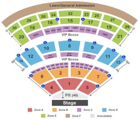 Saratoga Performing Arts Center Tickets And Saratoga