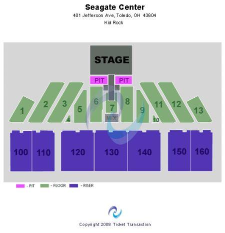 Concert Floor Seating