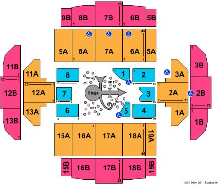 Tacoma Dome Tickets And Tacoma Dome Seating Chart Buy