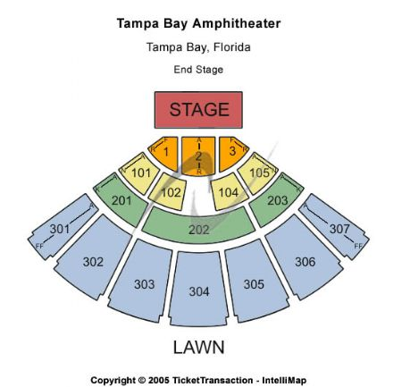 Tampa bay amphitheatre tickets and tampa bay amphitheatre seating