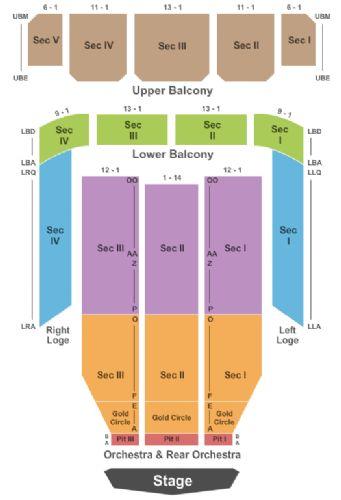 Thalia Mara Hall Tickets And Thalia Mara Hall Seating
