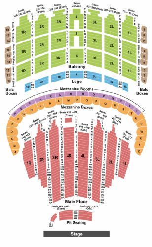 Oriental theater seating chart car interior design for Cheap tattoo removal chicago
