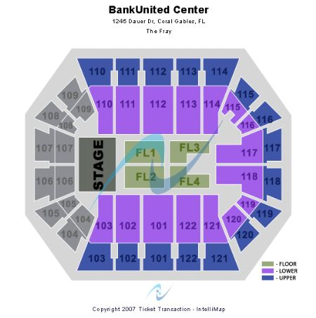 Bankunited center at um tickets and bankunited center at um seating