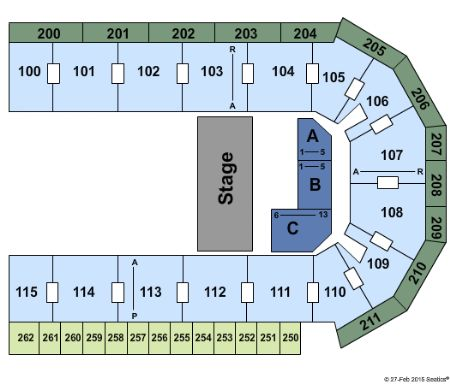 United Wireless Arena Tickets And United Wireless Arena Seating Chart Buy United Wireless
