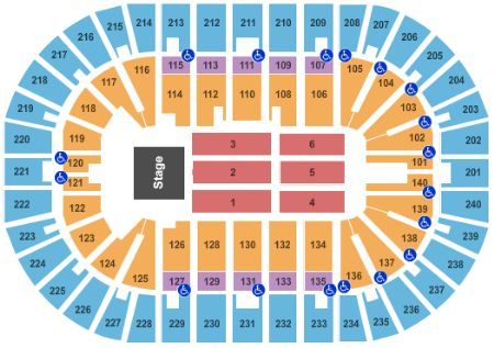 US Bank Arena Tickets And US Bank Arena Seating Chart Buy US - Us bank arena seat map