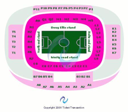 Villa Park Tickets And Villa Park Seating Chart Buy