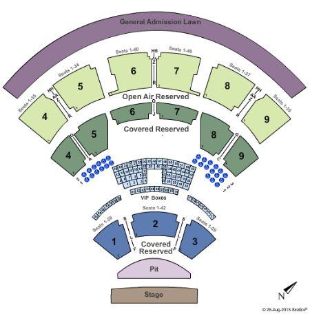 Walnut creek amphitheatre seating chart coastal credit union