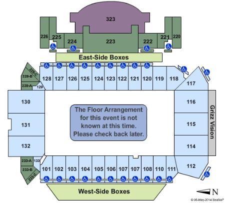 washington grizzly stadium seating chart: Washington grizzly stadium tickets and washington grizzly stadium