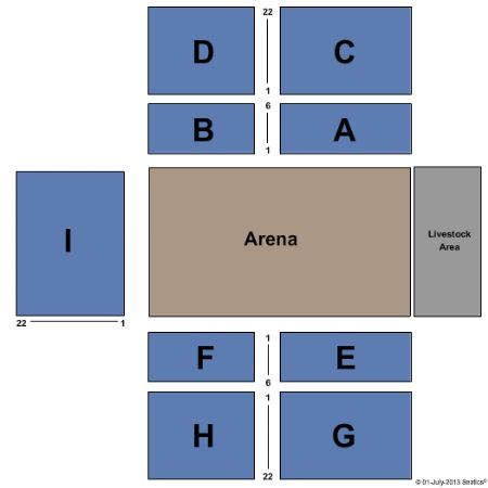 Seating thackerville casino 12
