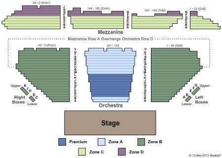 Winter Garden Theatre Tickets And Winter Garden Theatre Seating Chart Buy Winter Garden