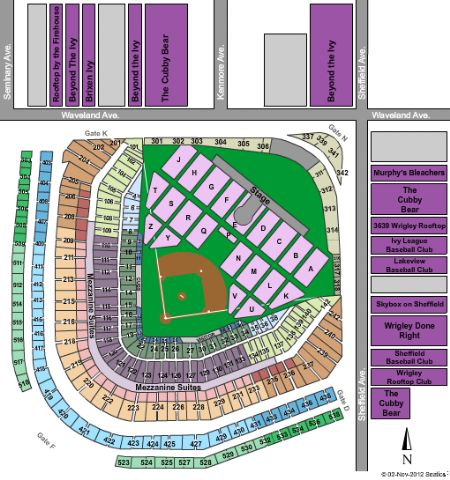 Cubs seats chart frodo fullring co