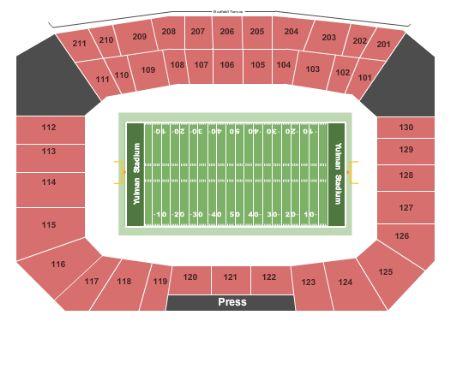 Yulman Stadium Tickets And Yulman Stadium Seating Chart