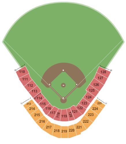 Zephyr Field Tickets And Zephyr Field Seating Chart Buy