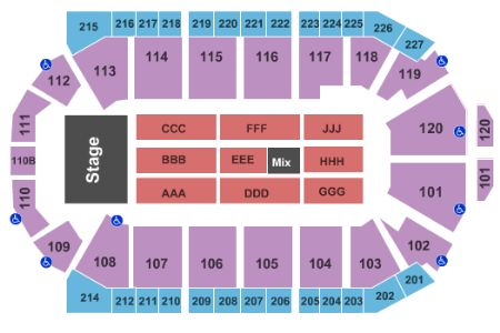 1stbank center tickets and 1stbank center seating chart buy