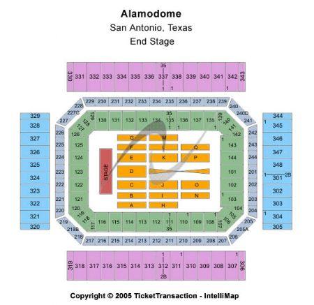 Alamodome Tickets And Alamodome Seating Chart Buy Alamodome San