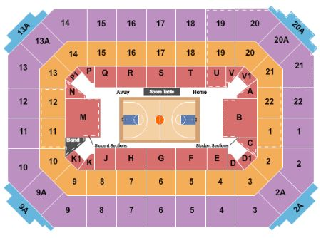 Allen fieldhouse tickets and allen fieldhouse seating chart buy