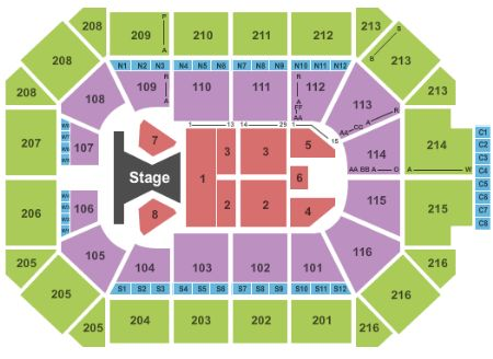 Allstate Arena Tickets And Allstate Arena Seating Chart