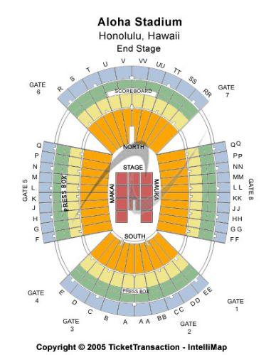 Aloha Stadium Tickets and Aloha Stadium Seating Chart - Buy