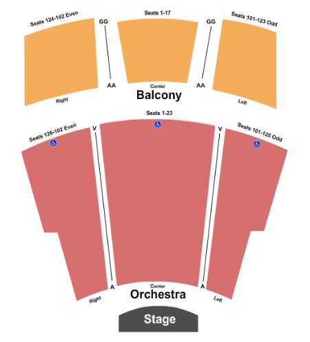 Ames center proscenium stage tickets and ames center for Burnsville theater
