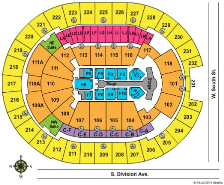 amway center seating chart: Amway center tickets and amway center seating chart buy amway