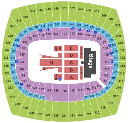 Arrowhead stadium tickets and arrowhead stadium seating chart