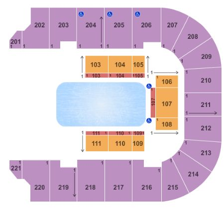 Bancorpsouth Arena Tickets And Bancorpsouth Arena Seating Chart