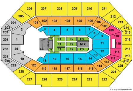 Bankers Life Fieldhouse Concert Seating Map Microfinanceindia