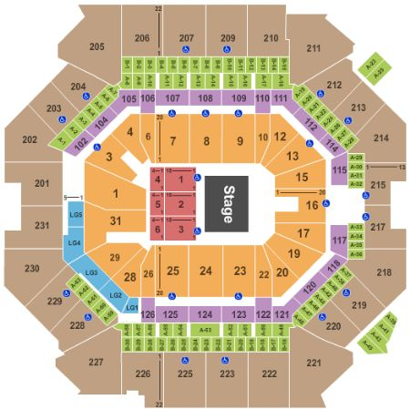 Barclays Center Tickets and Barclays Center Seating Chart ...