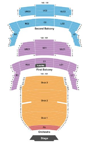 Bass concert hall tickets and bass concert hall seating chart