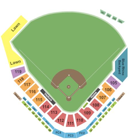 Bb Amp T Ballpark Tickets And Bb Amp T Ballpark Seating Chart