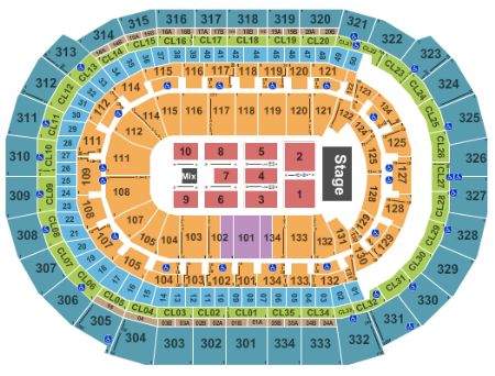 Bb t center tickets and bb t center seating chart buy bb t center