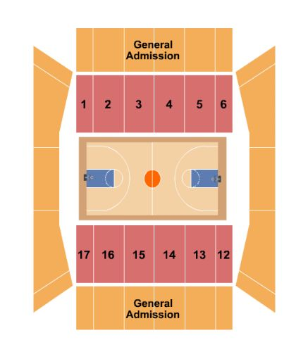 Beeghly Center Tickets and Beeghly Center Seating Chart - Buy ... on allegheny college meadville pa campus map, ysu campus building map, ysu building map williamson,