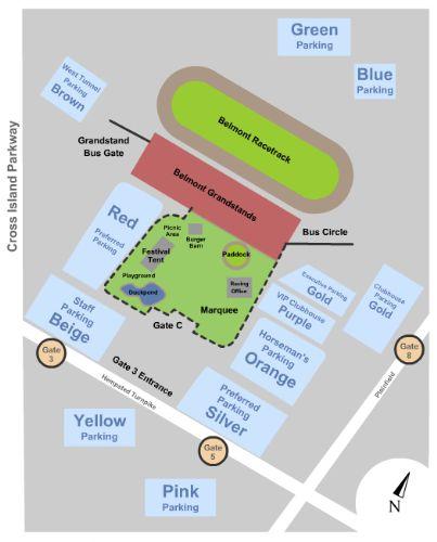 belmont park diagram blog wiring diagrams Belmont Park Racing
