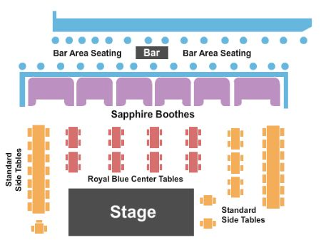 Blue Note Tickets and Blue Note Seating Chart - Buy Blue ...