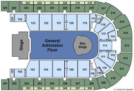 Boardwalk hall seating chart mersn proforum co