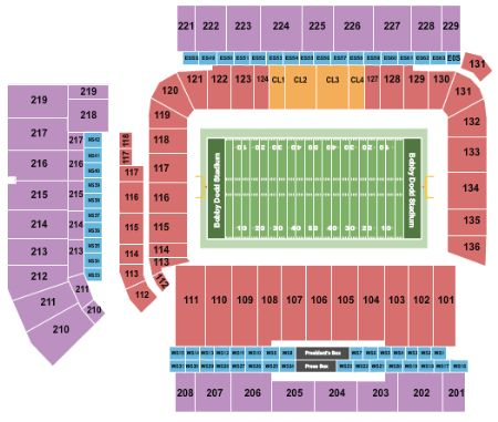 Bobby Dodd Stadium Tickets And Bobby Dodd Stadium Seating Chart Buy Bobby Dodd Stadium Atlanta Tickets Ga At Stub Com