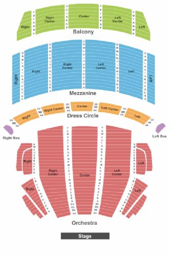 Boston opera house tickets and boston opera house seating chart