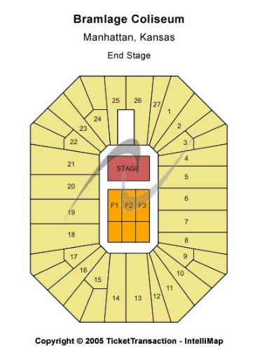 Bramlage coliseum tickets and bramlage coliseum seating chart