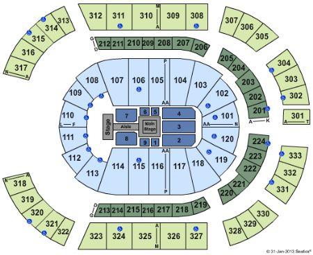 Bridgestone arena tickets and bridgestone arena seating chart buy