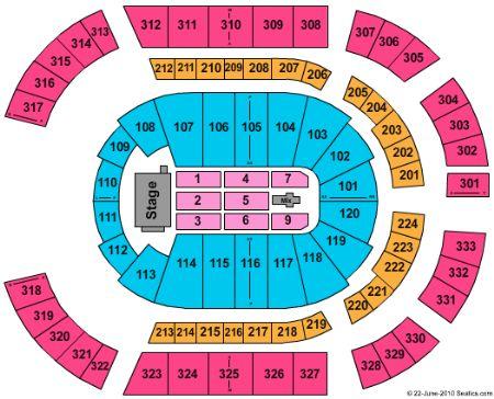 Bridgestone arena tickets and bridgestone arena seating chart
