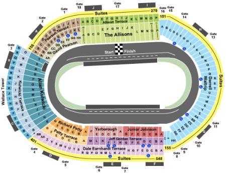 Bristol motor speedway tickets and bristol motor speedway seating