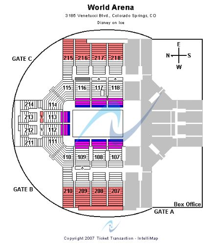 Broadmoor world arena tickets and broadmoor world arena seating
