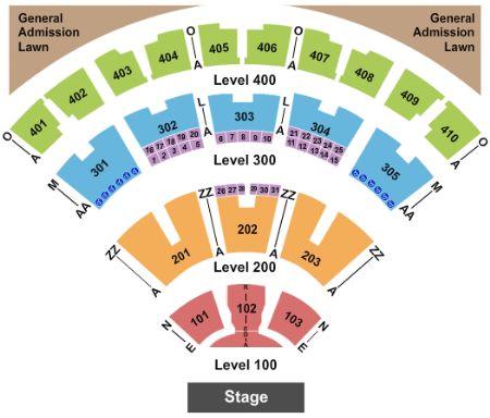 Molson Canadian Amphitheatre Seating Map Molson Canadian Amphitheatre Tickets and Molson Canadian