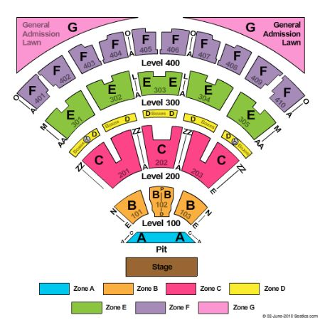Molson Canadian Amphitheatre Seating Map Molson Canadian Amphitheatre Tickets and Molson Canadian  Molson Canadian Amphitheatre Seating Map