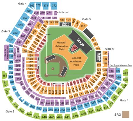 Busch Stadium Tickets And Busch Stadium Seating Chart Buy