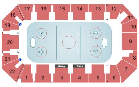 Cambria County War Memorial Arena Tickets And Cambria County War Memorial Arena Seating Chart