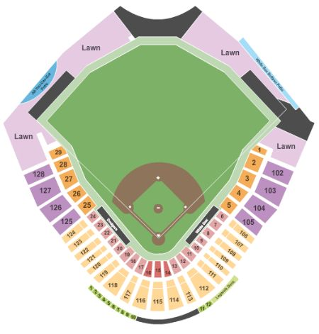 Camelback Ranch Stadium Tickets And Camelback Ranch