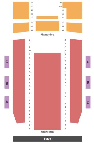 Capitol theatre tickets and capitol theatre seating chart buy
