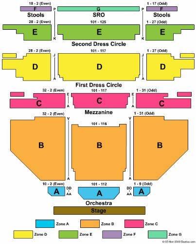 Carpenter Theatre At Richmond Centerse Tickets And Va Seating Chart Collections Photos